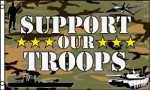 Support our troops flag camo 5ft x 3ft
