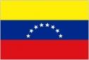 Venezuela 7 stars flag 5ft x 3ft
