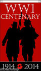 World War 1 100 year centenary commemorative flag 1914-2014 5ft x 3ft