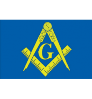 Masonic freemason flag 5ft x 3ft