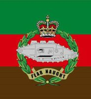 Royal Tank Regiment flag 5ft x 3ft