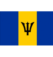 Barbados Flag 5ft x3ft