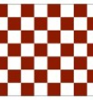 Chequered check flag maroon white 5ft x 3ft