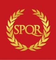 Roman empire SPQR flag 5ft x 3ft with eyelets