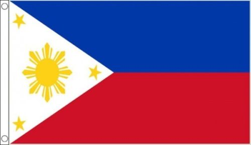 Philippines flag 5ft x 3ft