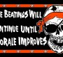 The beatings will continue flag by Spirit of Air 5ft x 3ft