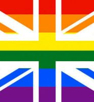Union jack rainbow flag 5ft x 3ft