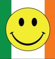 Ireland smiley flag 5ft x 3ft