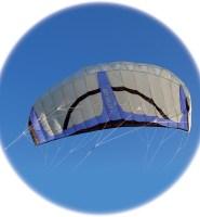 Stratus 4.5m² frameless power kite from Spirit of Air