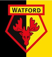 Watford football flag 5ft x 3ft official product