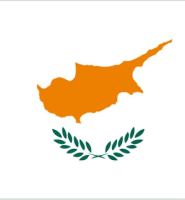 Cyprus flag 5ft x 3ft with eyelets