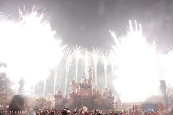 Hong Kong Disney Fireworks Photos