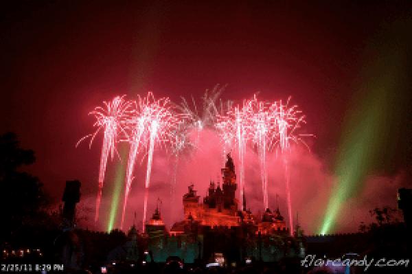 Hong Kong Disneyland Disney in the Stars Fireworks Display.png