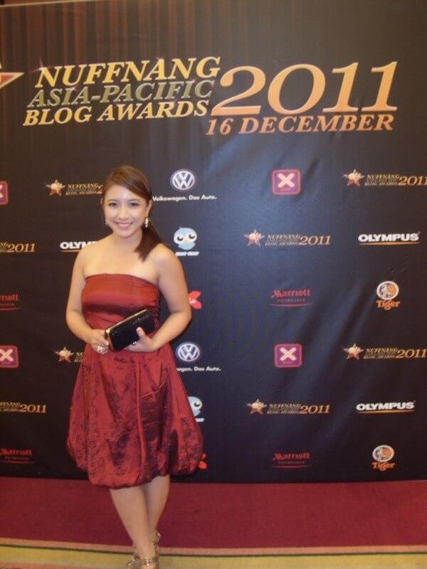 Hannah Villasis FlairCandy Nuffnang Blog Awards 2011