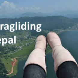Paragliding Pokhara Nepal – Flair Travels #2