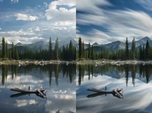 Comparaison de filtre de densité neutre