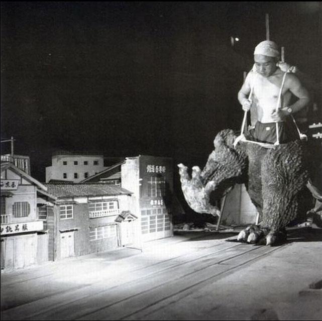 Le tournage de Godzilla