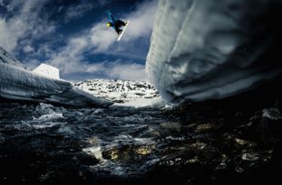 Snowboarders in Action par Lorenz Holder