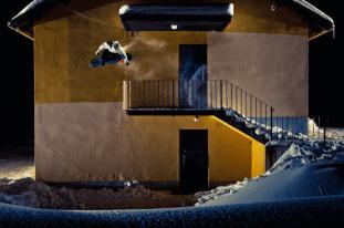 Snowboarders in Action par Lorenz Holder