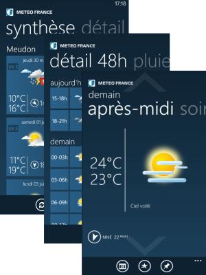 Appli Météo France