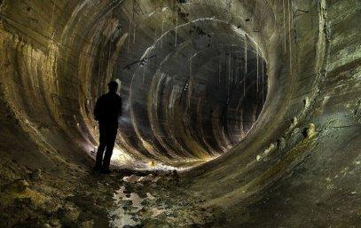 Un tunnel de métro abandonné - Kiev, Ukraine