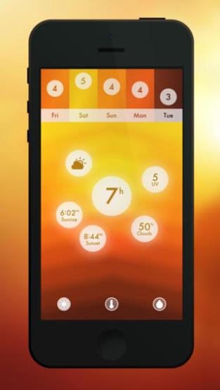 Haze pour iPhone