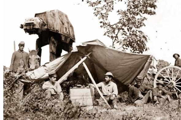 Star Wars à l'ancienne