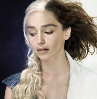 Daenerys Targaryen / Emilia Clarke par Gianfranco Gallo