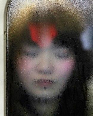 Tokyo Compression par Michael Wolf
