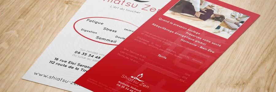 Plaquette Shiatsu Zen - Annecy