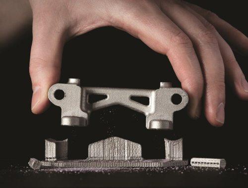 3D-printed part using Desktop Metal