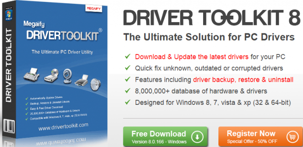 Driver Toolkit 8.5 Licence Key [ Serial + Crack ] Full Download