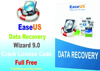 EaseUS Data Recovery Wizard 9.0 Crack License Code Full Free
