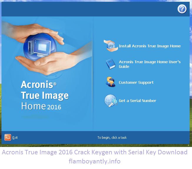 acronis true image 2016 license