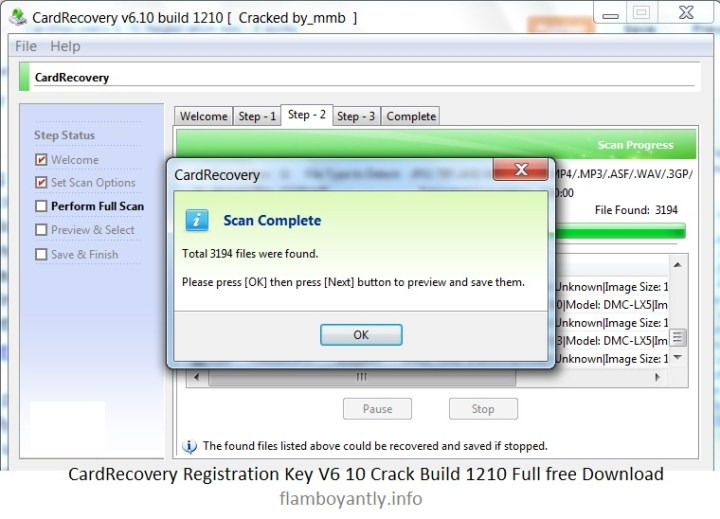 card recovery software with crack file