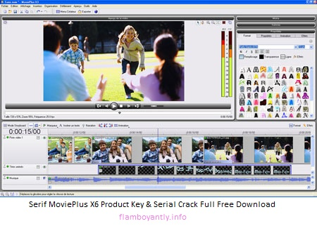 Serif MoviePlus X6 Product Key & Serial Crack Full Free Download