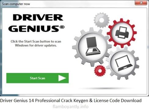 Driver Genius 14 Professional Crack Keygen & License Code Download