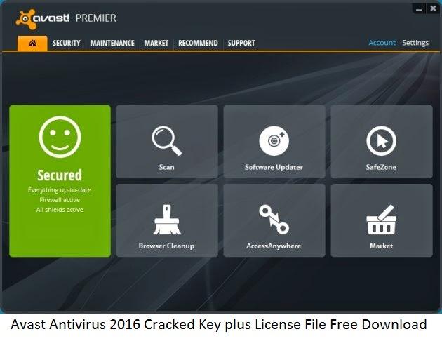 avast antivirus cracked free download
