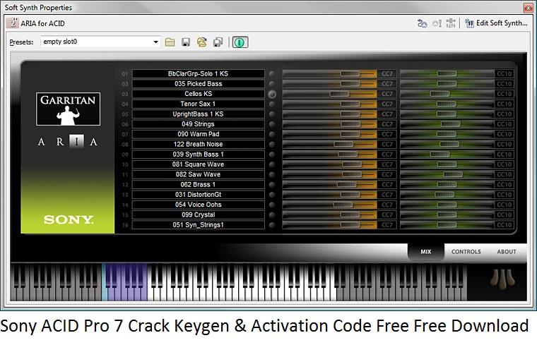 Sony Acid Free Download For Mac - xsonared