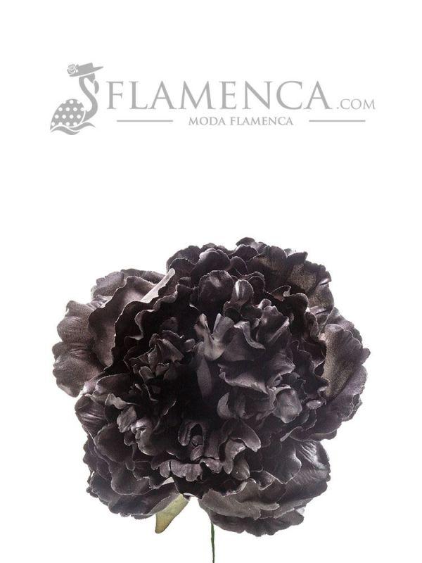 FLOR DE FLAMENCA NEGRO