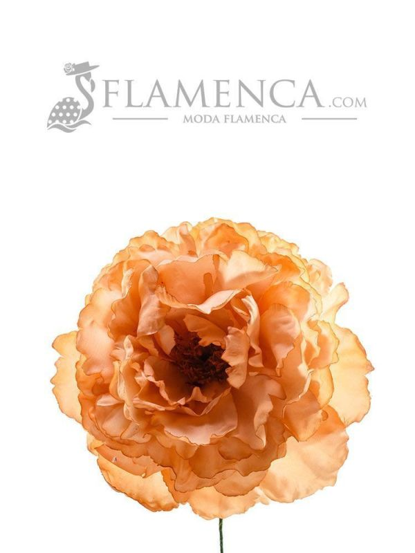 FLOR DE FLAMENCA SALMÓN TOSTADO