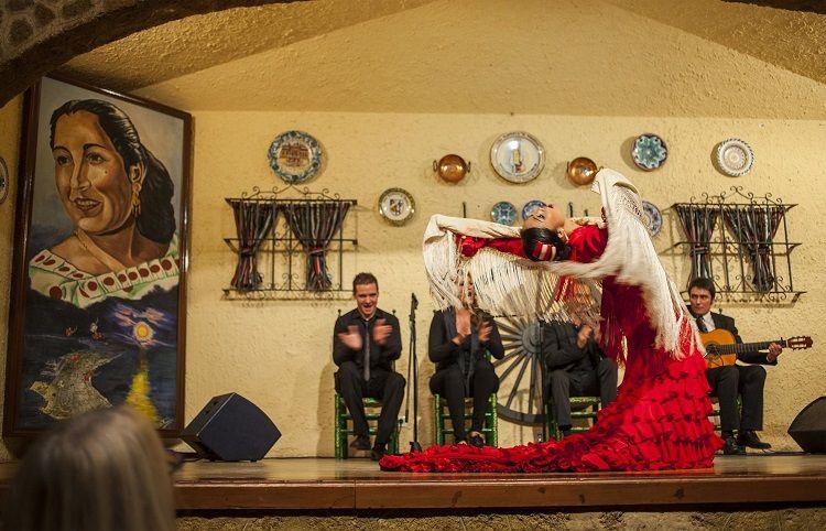 """Tablao de la peña """"La Perla de Cádiz"""""""
