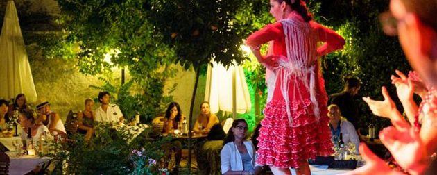 Semana de eventos en tablao jardines de zoraya flamenco granada - Los jardines de zoraya ...