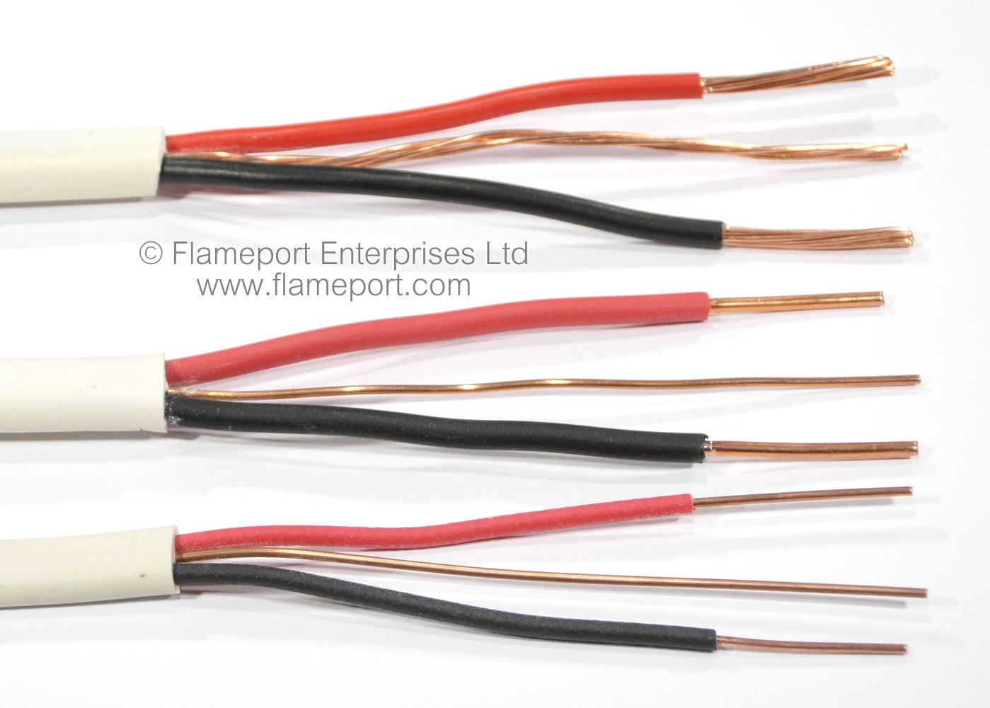 Electrical Wiring Red Black White
