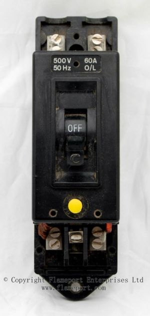 Obsolete Crabtree earth leakage circuit breaker with