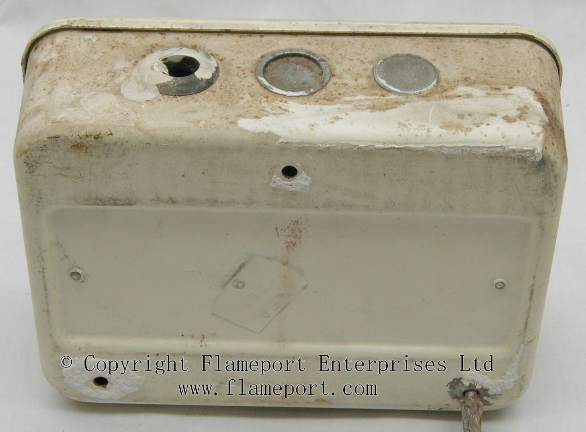 Gec Metal 3 Way Fusebox