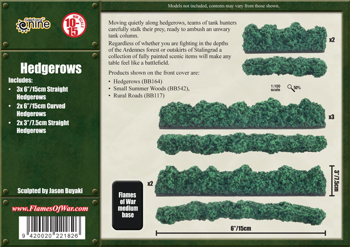 Hedgerows (BB164)