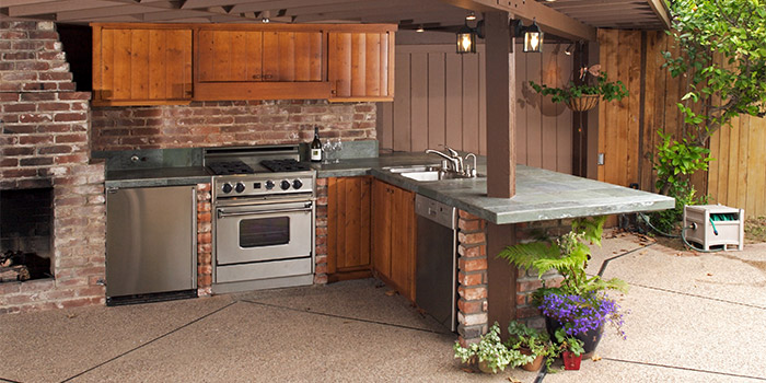 Central Florida Outdoor Kitchens on Patio Kitchen  id=77472