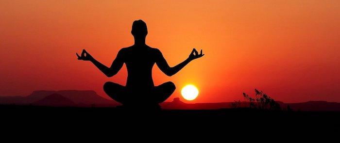 sunset- and meditation