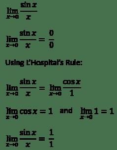 Keep Calm and Use L'Hospital's Rule – Flamingo Math with ...